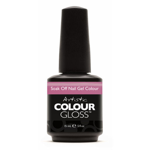 Artistic Colour Gloss - PETAL TO THE METAL 03164  - Soak Off Gel Nail Colour , 0.5 fl oz