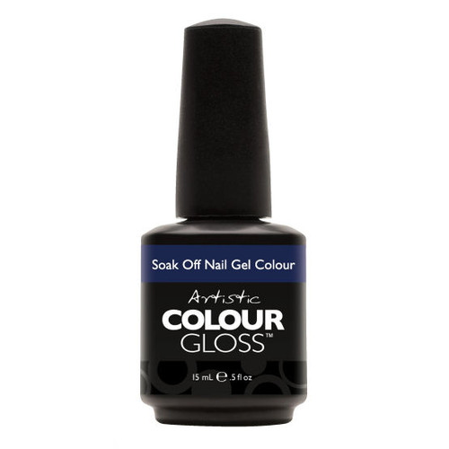 Artistic Colour Gloss - DETERMINED 03122  - Soak Off Gel Nail Colour , 0.5 fl oz