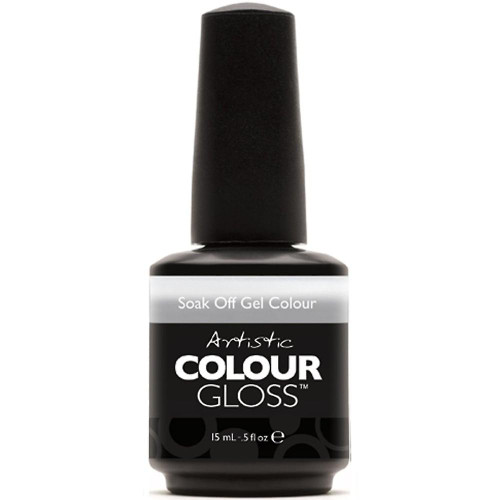 Artistic Colour Gloss - TROUBLE 03099 - Soak Off Gel Nail Colour , 0.5 fl oz