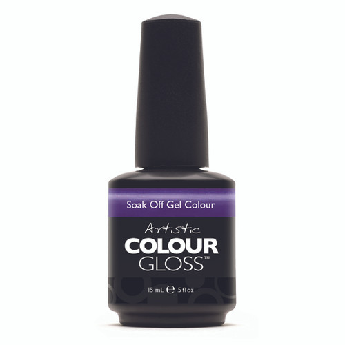 Artistic Colour Gloss - CAVIAR FOR BREAKFAST 03085  - Soak Off Gel Nail Colour , 0.5 fl oz