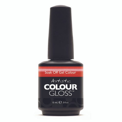 Artistic Colour Gloss - SNAPDRAGON 03079  - Soak Off Gel Nail Colour , 0.5 fl oz