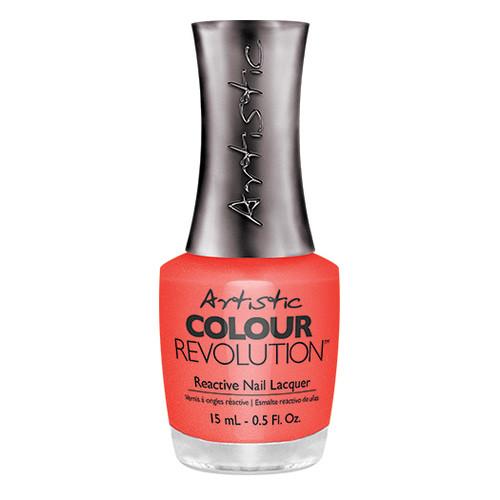 Artistic Colour Revolution - HAUTE COUT ORANGE 2303087 - Reactive Nail Lacquer , 0.5 fl oz