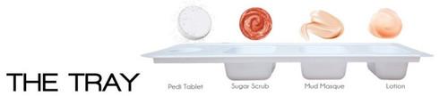 Triple XXX Brands | So Soft 4 in 1 Pedi Spa | PINK MAGNOLIA (3 packs)