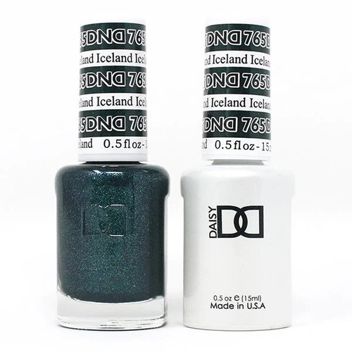 DND SOAK OFF GEL POLISH DUO | WINTER COLLECTION 2020 | Iceland, 765