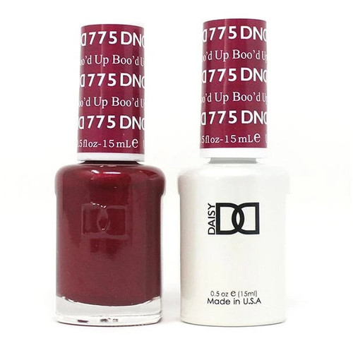 DND SOAK OFF GEL POLISH DUO | WINTER COLLECTION 2020 | Blood Up, 775