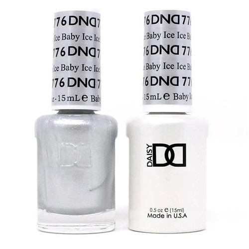 DND SOAK OFF GEL POLISH DUO | WINTER COLLECTION 2020 | Ice Ice Baby, 776