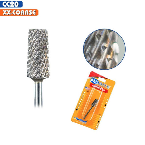 "Medicool Pro Bits | Carbide bit | CC 20 - XX Coarse | 3/32"""