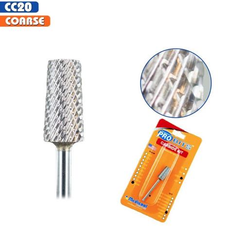 "Medicool Pro Bits | Carbide bit | CC 20 -Coarse  | 3/32"""