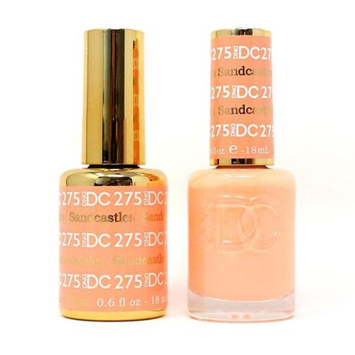 DND DC DUO SOAK OFF GEL AND LACQUER | Collection 2020 | 275 Sandcastles