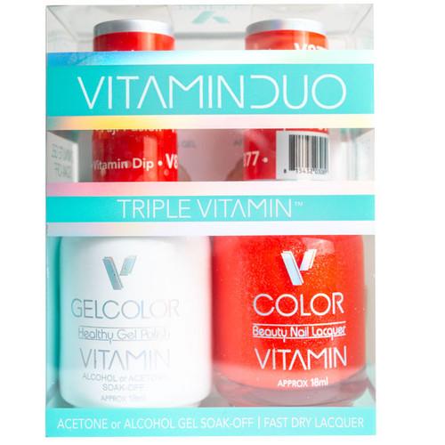 Triple Vitamin Matching Duo - V877 Fuji Fusion