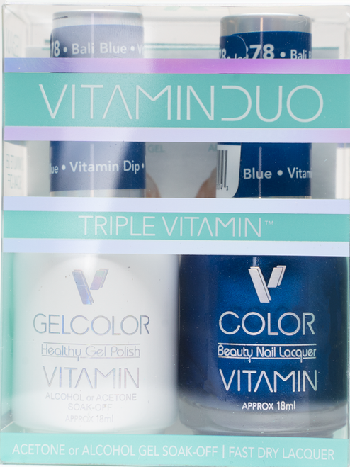 Triple Vitamin Matching Duo - V878 Bali Blue