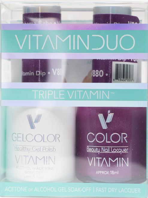 Triple Vitamin Matching Duo - V880 Bahama Babe