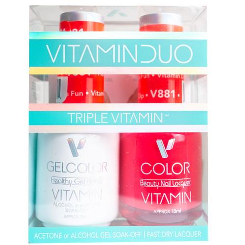 Triple Vitamin Matching Duo - V881 Florida Fun