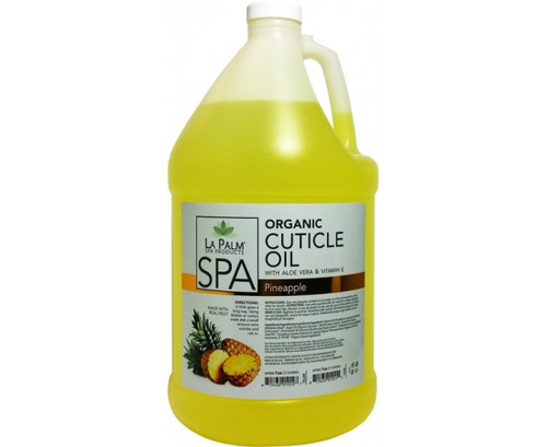 La Palm Cuticle Oil 1 gallon - Yellow Pineapple