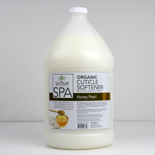 La Palm Cuticle Softener 1 gallon - Honey Pearl