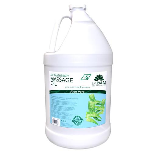 La Palm Massage Oil 1 gallon - Aloe Vera