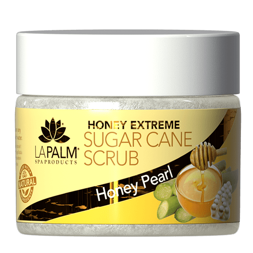 La Palm Sugar Scrub Extreme 12 oz - Honey Pearl