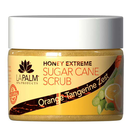 La Palm Sugar Scrub Extreme 12 oz - Orange Tangerine Zest