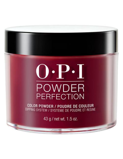 OPI Nails Powder Perfection 1.5 oz. - Malaga wine