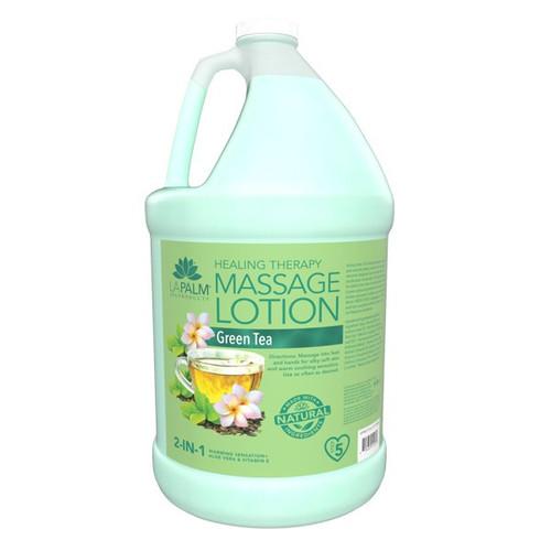 Organic Healing Therapy Massage Lotion | 1 Gal | Green Tea