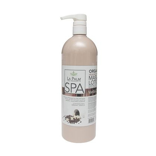 Organic Healing Therapy Massage Lotion | 32oz | Vanilla Cappuccino