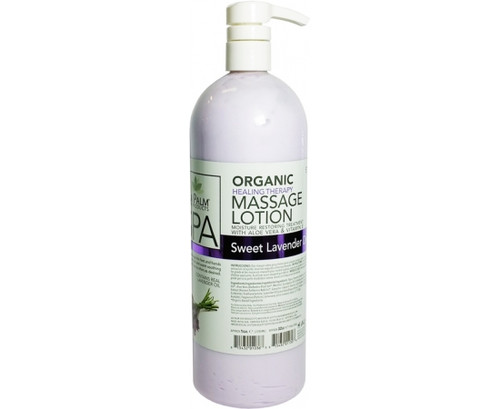 Organic Healing Therapy Massage Lotion | 32oz | Sweet Lavender Dreams