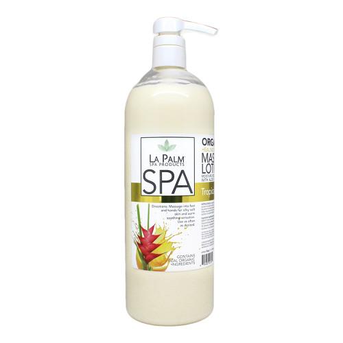 Organic Healing Therapy Massage Lotion | 32oz | Tropical Citrus