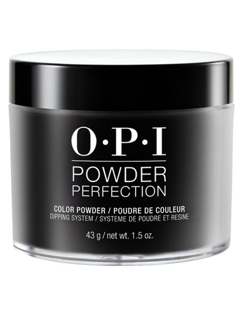 OPI Nails Powder Perfection 1.5 oz. - Black Onyx