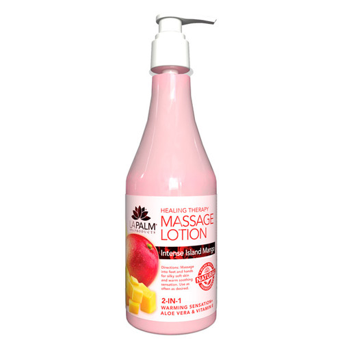 Healing Therapy Massage Lotion | 8oz | Intense Island Mango