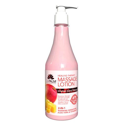 Healing Therapy Massage Lotion | 8oz | Intense Island Mango