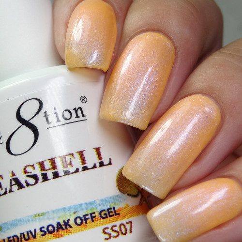 Cre8tion Seashell Collection | Soak off gel 0.5 oz | SS07