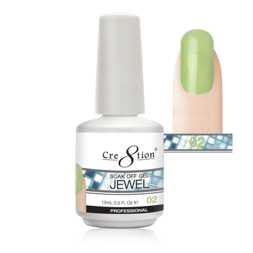 Cre8tion Jewel Collection | Soak off gel 0.5 oz | 02