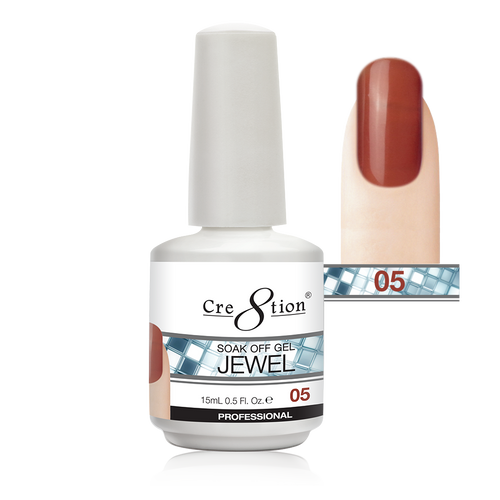 Cre8tion Jewel Collection | Soak off gel 0.5 oz | 05