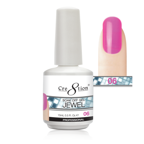 Cre8tion Jewel Collection | Soak off gel 0.5 oz | 06