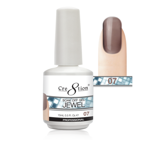 Cre8tion Jewel Collection | Soak off gel 0.5 oz | 07