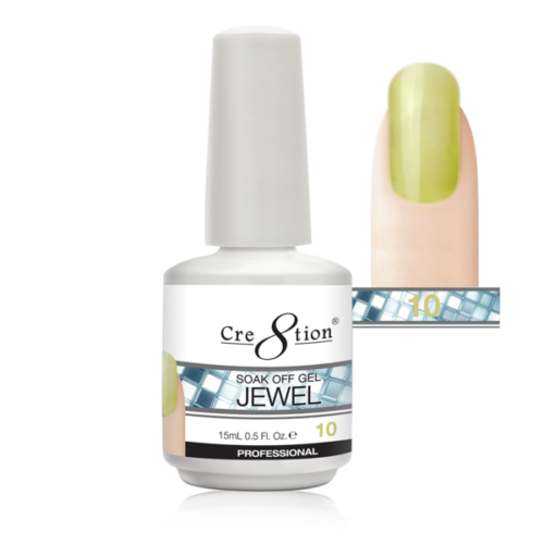 Cre8tion Jewel Collection | Soak off gel 0.5 oz | 10