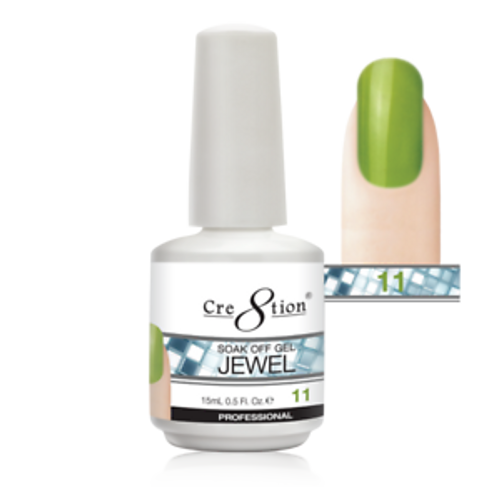 Cre8tion Jewel Collection | Soak off gel 0.5 oz | 11