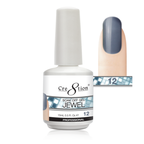 Cre8tion Jewel Collection | Soak off gel 0.5 oz | 12