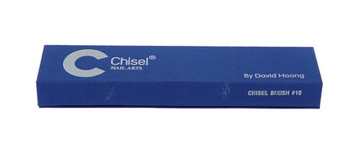 Chisel Kolinsky Acrylic Brush Round #10