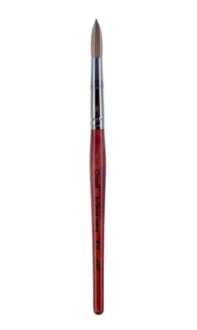 Chisel Kolinsky Acrylic Brush Round #14