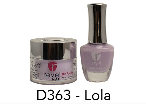 Revel Mates Matching Dip Powder 2 oz & Polish 0.5oz | D363 Lola