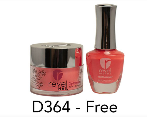 Revel Mates Matching Dip Powder 2 oz & Polish 0.5oz | D364 Free