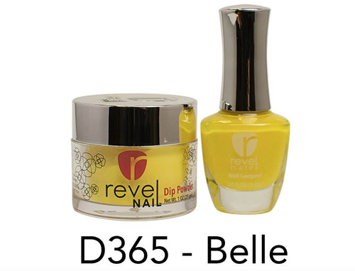 Revel Mates Matching Dip Powder 2 oz & Polish 0.5oz | D365 Belle