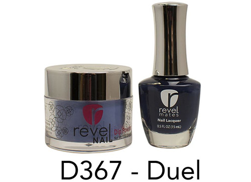 Revel Mates Matching Dip Powder 2 oz & Polish 0.5oz | D367 Duel