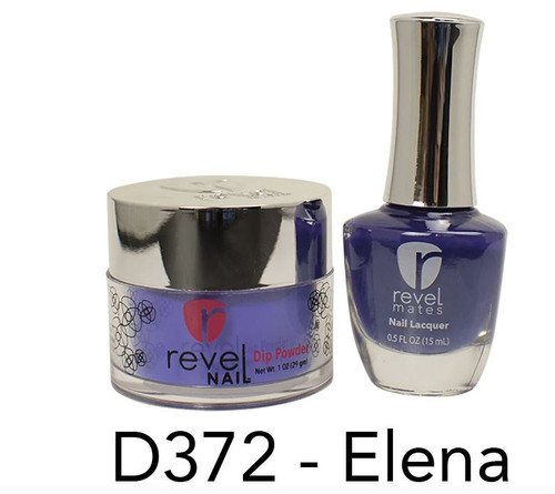 Revel Mates Matching Dip Powder 2 oz & Polish 0.5oz | D372 Elena