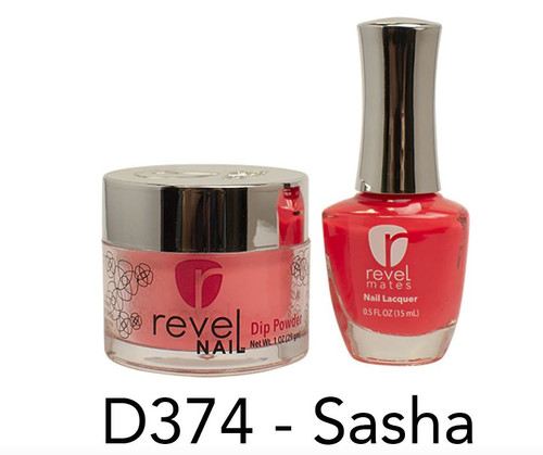 Revel Mates Matching Dip Powder 2 oz & Polish 0.5oz | D374 Sasha