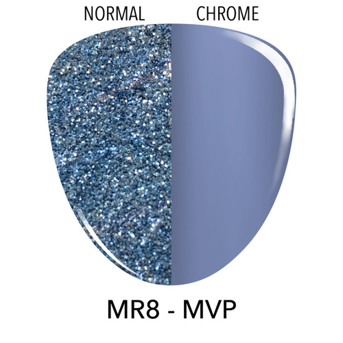 Revel Dip Powder | Mirror Chrome Collection | MR8 MVP | 2 oz