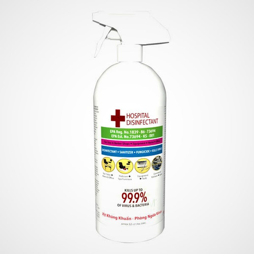 La Palm Hospital Disinfectant 32oz
