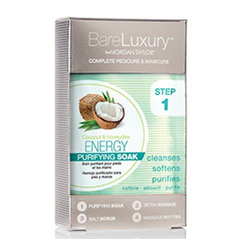 BareLuxury 4-Step Complete Pedicure & Manicure - Coconut & Honeydew (1pack)