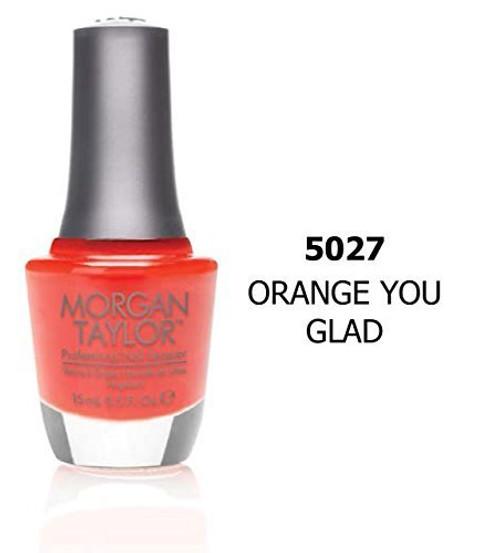 Morgan Taylor | Regular polish | Orange You Glad